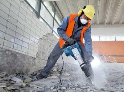 Электрический отбойный молоток – без труда пробираемся через бетонные джунгли