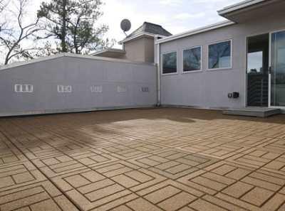Резиновая тротуарная плитка – практичное решение для дорожек и площадок