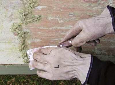 Смывка старой краски – надежный и эффективный способ подготовки стены
