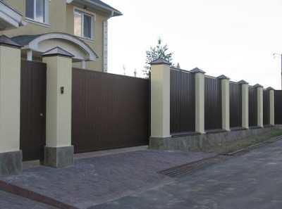 Ворота из профлиста – как быстро и качественно провести монтаж?