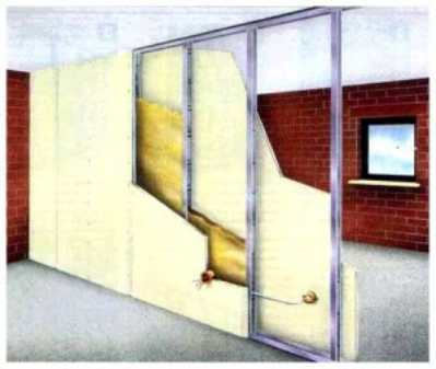 Стены из гипсокартона – удобно, надежно, практично