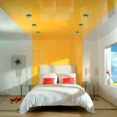 Натяжной потолок - отличный выбор!
